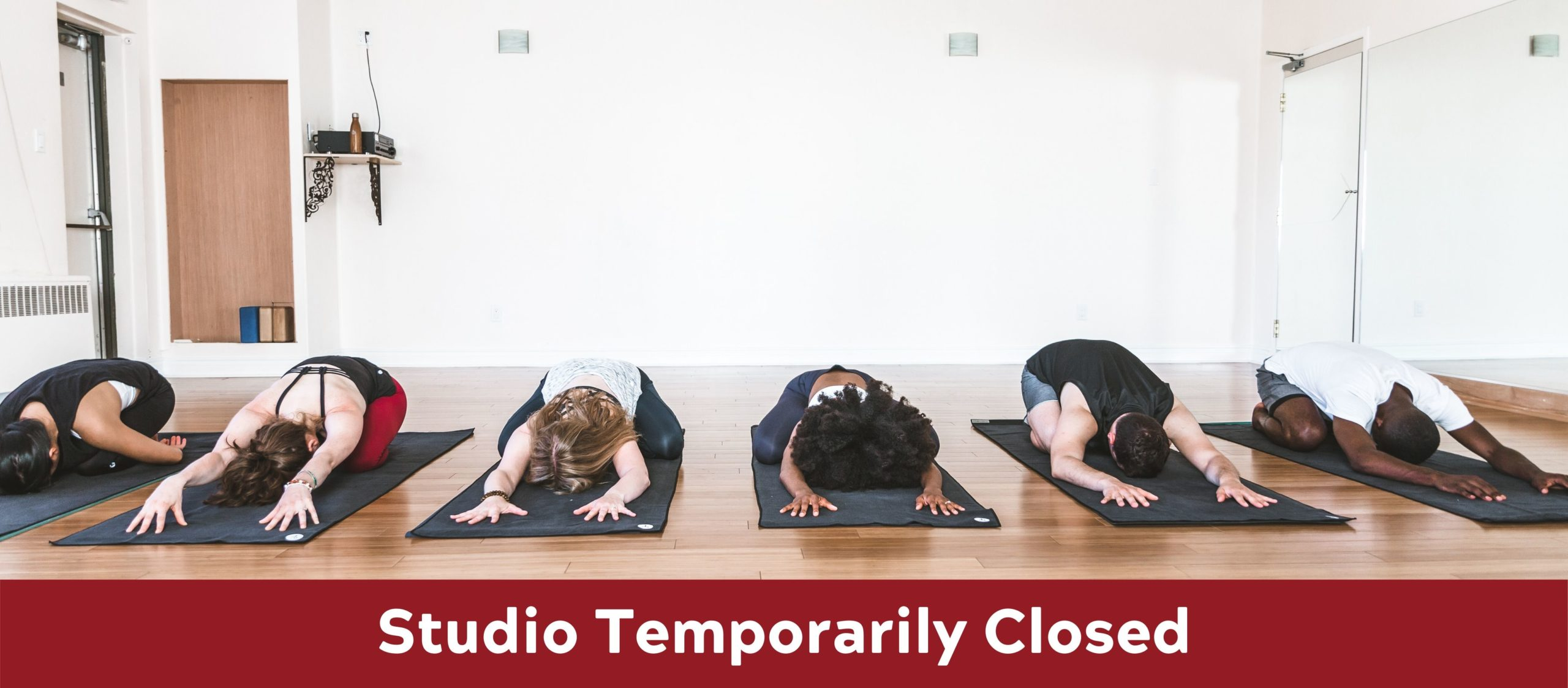 STUDIO TEMPORARILY CLOSED MAR 16 ONWARDS